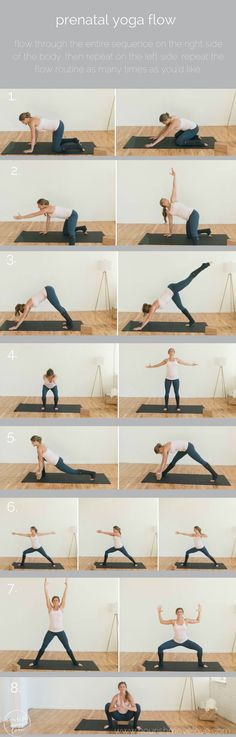 these 8 prenatal yoga poses will help you strengthen and tone during all three t