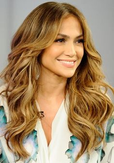 Mechas Californianas en pelo rizado: Jennifer Lopez