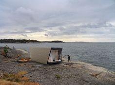 A modular hotel suite by In-tenta Design