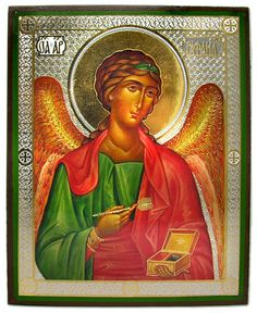 Archangel RAPHAEL, Orthodox Icon  -  at Holy Trinity Store