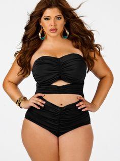 583111a89c6 136 Best plus size bikini images