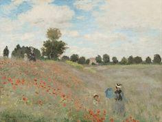 Mohnblumen' von Claude Monet  http://www.kunstbilder-galerie.de/kunstdrucke/claude-monet-bild-4362.html