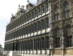The Gent Town Hall is one of the most breathtaking buildings in Gent Belgium (Ghent). A portion of the building has an ornate Gothic design while another portion (on Botermarkt Square) was built in a Renaissance style.    The Town Hall in Gent is called the Ghent Stadhuis is Flemish and Hotel de Ville in French. It can be found near the Belfry Tower in the historical centre of Gent Belgium.