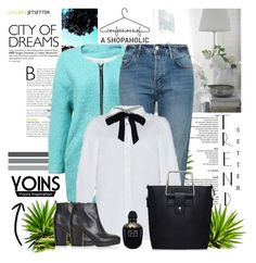 """""""Yoins 43"""" by mary-turic ❤ liked on Polyvore featuring Topshop, Alexander McQueen and yoins"""