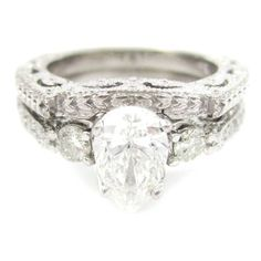 Wedding Band For Pear Shaped Engagement Ring