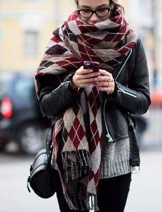 Rock 'n' Roll Style ✯ Fashion Week Russia Street Style