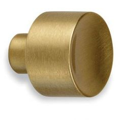 Colonial Bronze 184 Series Cabinet Knob in Unlacquered Satin Brass Kitchen Hardware, Home Hardware, Brass Hardware, Cabinet Knobs, Cabinet Hardware, Dresser Knobs, Knobs And Pulls, Drawer Pulls, Modern Drawers