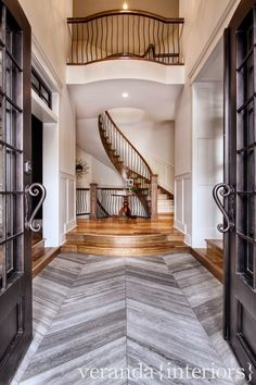 veranda interiors: Our Home {Foyer & Dining Room}