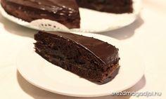 Egészséges Sacher-torta – cukormentes, laktózmentes
