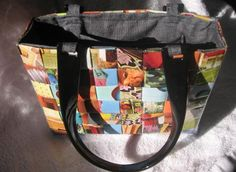 Purse made out of a magazine. For Real!