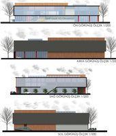 The project shows Ataşehir, the maps of Ümraniye - Arkitera - tophane projesi fikirler - Architecture Cultural Architecture, Museum Architecture, Concept Architecture, School Architecture, Architecture Design, Mall Design, Studio, Facade Design, Building Design