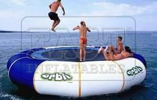 Orbit Floating Trampoline For Sale,Pool Floating Rafts,Water Sports Inflatables,Inflatable Pools Kids