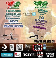 gosk8mx en Reforma  #gosk8mx