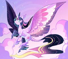 mylittleponygames:  Rainbow Power Purple Horse by Glistenin Image Source: http://ift.tt/2fXQeLq  Follow My Little Pony Games for new games fan art and memes daily!