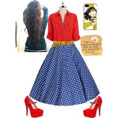 Wonder Woman ◆ Apostolic Pentecostal Fashion ◆ <----yes I'm not the only one!!!