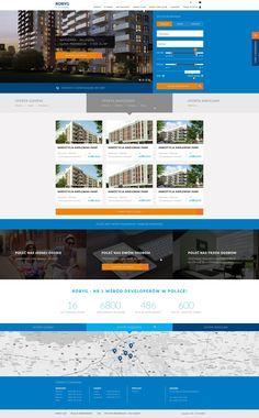 Real estate concept website