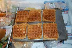 Homemade WW waffles