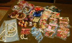 Joblot costume #jewellery #large bundle brand new earrings #bangles rings necklac,  View more on the LINK: http://www.zeppy.io/product/gb/2/222394860206/