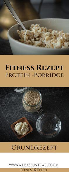 Protein-Porridge ist ein super Frühstück für Sportler und Abnehmwillige. Tolle Nährwerte und ein leckerer Geschmack. Tags: Porridge, Proteinprorridge, Oats, Fitnessfrühstück