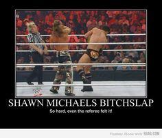 Shawn Michaels!