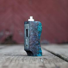 Galaxy mod with Damascus faceplate.  #galaxy #damascus #galaxymod #boxmod #vapemod #18650 #dripper #rda #rba #coils #wicking #kanthal #builds #subohm #subohmvaping #vapenation #vapeon #vapelife #vapecomminuty #vapeallday #vapehard #wood #wooden #regulated #LiquidSoulVapor #UnhingeTheOrdinary