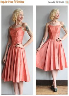 A personal favorite from my Etsy shop https://www.etsy.com/listing/539711393/20-off-sale-1950s-dress-sweet-kiss