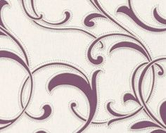 Contemporary Wallpaper, pattern number from the ATLANTA range. Grey Wallpaper, Pattern Wallpaper, Contemporary Wallpaper, Baroque Fashion, Budapest, Grey And White, Atlanta, Bedroom Decor, Style