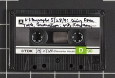 2,000+ Cassettes from the Allen Ginsberg Audio Collection Now Streaming Online |  Open Culture