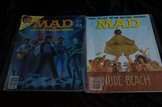 Lot of 70 MAD MAGAZINES 1970's-1980's  Vintage Magazines by 2006lindam on Etsy