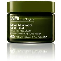 Women's Origins Dr. Andrew Weil For Origins Mega-Mushroom Skin Relief... (864.500 IDR) ❤ liked on Polyvore featuring beauty products, skincare, face care, face moisturizers, no color, face moisturizer and origins face care