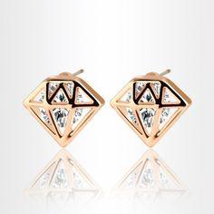 personlized diamond earrings