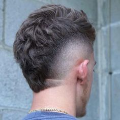 Male Haircuts Curly, Mohawk Hairstyles Men, Trendy Mens Hairstyles, Haircuts For Men, Mullet Fade, Receding Hairline Styles, Mullet Hairstyle, Hairstyle Short, Mohawk For Men