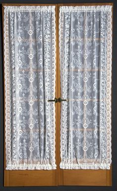 Jcp Home Shari Lace Rod Pocket Balloon Shade Jcpenney