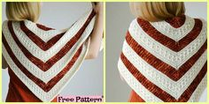 Beautiful Crochet mindfulness Shawl – Free Pattern #freecrochetpattern #shawl