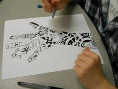 *Fun Art 4 Kids: Zentangle Hands