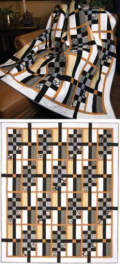 High Rise Kit. This would be a good masculine quilt.