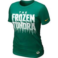 Women's Nike Green Bay Packers Local T-Shirt - NFLShop.com