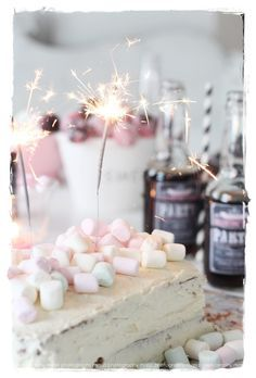 marshmallows handgun halloween cards do it fishing lures Happy Birthday 1, Girl Birthday, Birthday Parties, Hawaiian Birthday, Monster Party, Cupcakes, Marshmallow Cake, Partys, Summer Parties