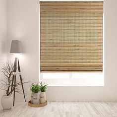 "Amazon.com: Arlo Blinds Cordless Tuscan Bamboo Roman Shades Blinds - Size: 35"" W x 60"" H, Cordless Lift System ensures Safety and Ease of use.: Home & Kitchen Living Room Blinds, Bedroom Blinds, House Blinds, Window Blinds, Privacy Blinds, Shutter Blinds, Diy Blinds, Fabric Blinds, Master Bedroom"
