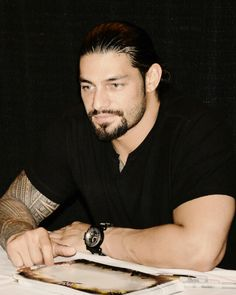 """Find and save images from the """"Handsome men and hot guys"""" collection by Xenia G. Tigrovna (tigerxenia) on We Heart It, your everyday app to get lost in what you love. Wwe Superstar Roman Reigns, Wwe Roman Reigns, Roman Reighns, Roman Quotes, Roman Reigns Family, Wwe World, Gorgeous Men, Beautiful Joe, Beautiful People"""