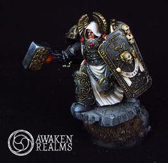 Black Templars High Marshall by Scibor