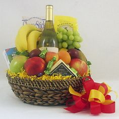Image detail for -wine cheese fruit gift baskets Housewarming Gift Baskets, Wedding Gift Baskets, Birthday Gift Baskets, Cookie Gift Baskets, Wine Gift Baskets, Gourmet Gift Baskets, Cheese Fruit, Wine Cheese, Get Well Gift Baskets