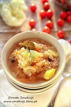 Zupa  z kapusty pekińskiej