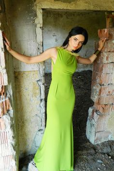 Green-Dress-by-Anca-Oniga