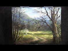 Looking Through the Trees | Paint with Kevin ® - YouTube