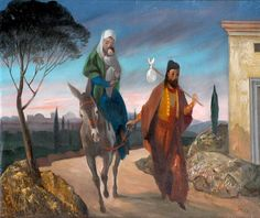Molnár C. Pál (Hungarian, 1894-1981) - Escape to Egypt