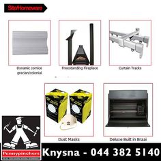 The indispensable tools, apparel and products that go into tackling a building project. From site fencing to the spades, picks, wheelbarrows and hosepipe for foundation work. From ladders and tool bags to gum boots, hardhats and gloves. From hand-held tools to generators and compressors. We have it all at Pennypinchers Knysna. #Homeware #diy