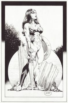 Wonder Woman by Rags Morales and Michael Blair