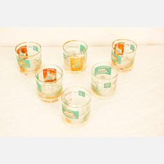 Vintage mid-century Boat Glasses, $39, now featured on Fab.