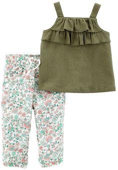 6b455a990 Carter s Sleeveless Dress Set - Baby Girls Cute Outfits For Kids